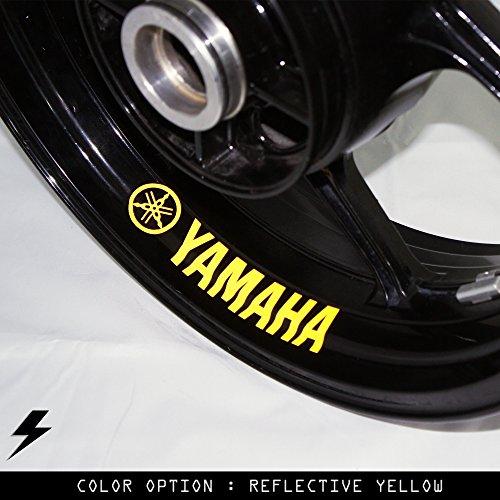 Yamaha Motorcycle Inner Rim Sticker Stripe - Rb Rims