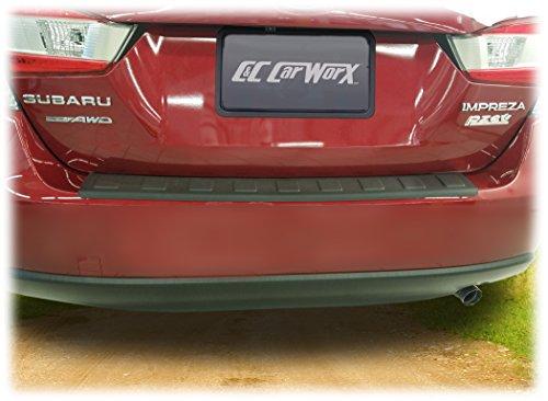 C&C Car Worx Rear Bumper Cover Guard Protection for 2017, 2018, 2019 Subaru Impreza 4-Door Sedan Including The 4-Door Sport Models