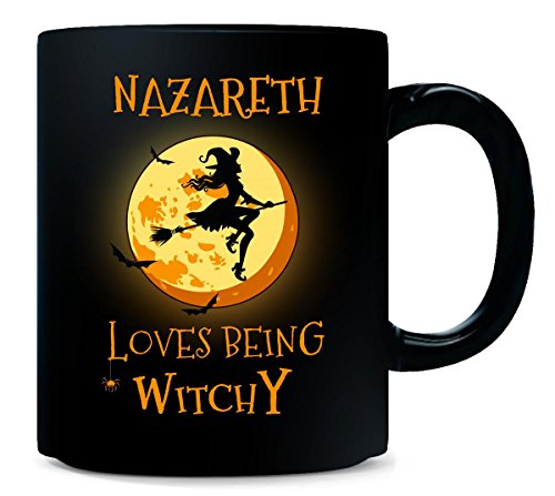 Nazareth Loves Being Witchy. Halloween Gift - Mug ()