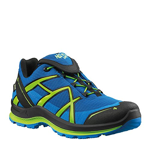 HAIX Black Eagle Adventure 2.0 Low Gore-Tex Blau / schwarz / Citrus