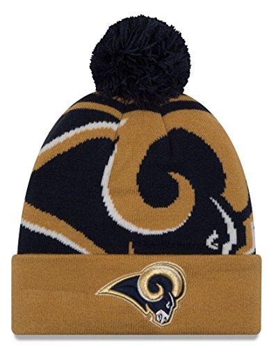 風が強い葉制限するLos Angeles Rams New Era NFL「ロゴWhiz 2