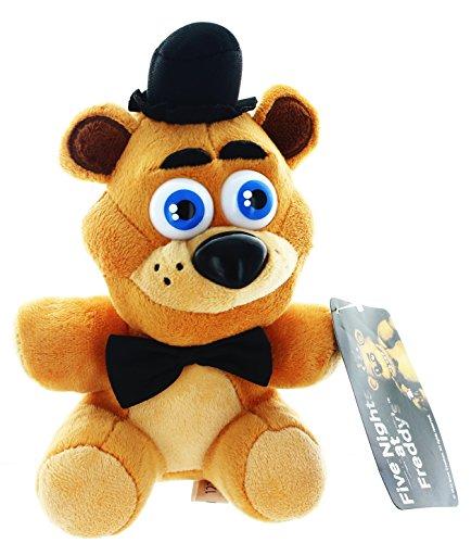 """Five Nights At Freddys - Freddy Fazbear Plush - 17cm 6.5"""""""