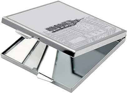مرآة جيب، بتصميم ساعة بيج بن، شكل مربع