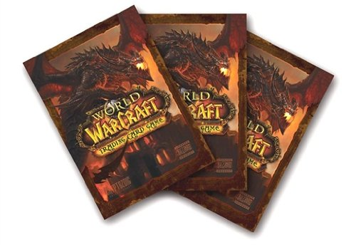 World of Warcraft Card Supplies Card Sleeves Deathwing 80 Count by Cryptozoic Entertainment
