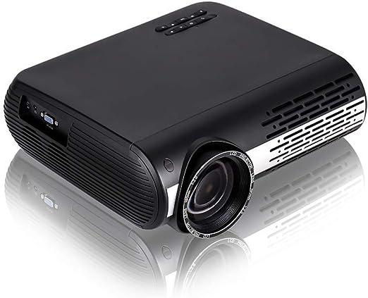 Proyector de video de 16000 lúmenes Proyector nativo Full HD 1920x1080P 50,000 horas de proyector LED El proyector admite la corrección trapezoidal 4K para cine en casa y presentación comercial: Amazon.es: Hogar