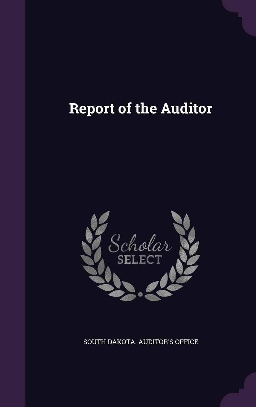 Report of the Auditor ebook