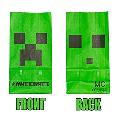 Minecraft Party Package, Goodie Bags by Miners Only! from Miners Only