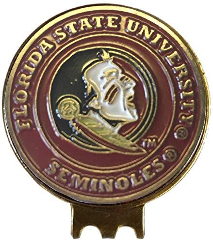 Florida State Seminoles Golf Ball Marker HAT Clip Great Gift IDEA Acc Noles FSU - Florida State Seminoles Golf Ball