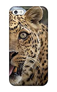 New Style Cute High Quality Iphone 5/5s Leopard Case 9486287K78039165