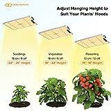 LED Grow Lights, MAXSISUN PB 1500 Grow Lights for