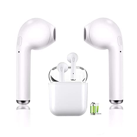 349311797f2 Bluetooth Headset, Wireless Headset Bilateral Call Bluetooth Headset 5.0in-Ear  Earphones Stereo in