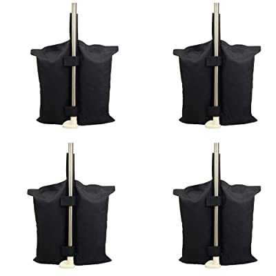 YELAIYEHAO 4 PCS Weights Bag for Pop up Canopy Tent Weighted Feet Bag Sand Bag with 1 Gardening Shovel (4) : Garden & Outdoor