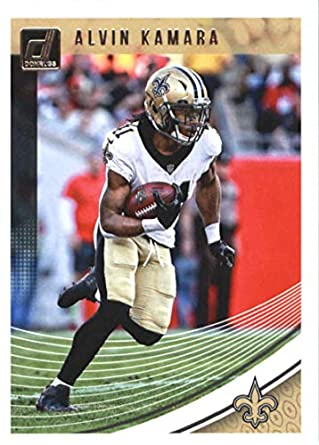Amazon Com 2018 Donruss Football 196 Alvin Kamara New Orleans