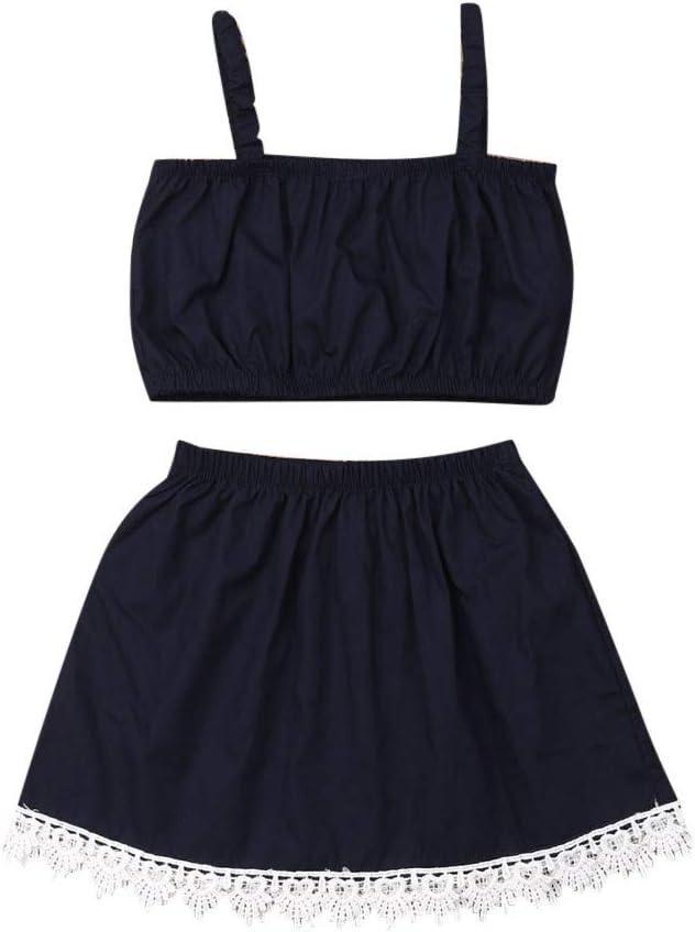Little Girl Princess Sets,Jchen Baby Kids Little Girl Off Shoulder Tassel Crop Tops Sunflower Print Shorts Outfits for 0-3 Y