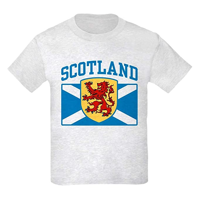 ee657535 Amazon.com: CafePress Scotland Kids Light T Shirt Kids T-Shirt: Clothing