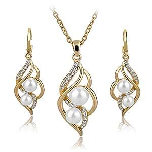 Amazon.com: Long Way Fashion Gold/Silver Plated Austrian
