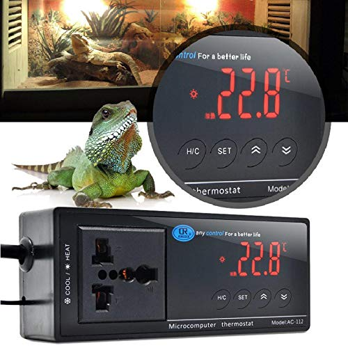 Digital LED Temperature Controller Thermostat for Aquarium Reptile 110/220V by Unknown (Image #5)