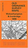 Wolverhampton and Ironbridge 1898: One Inch Map 153 (Old Ordnance Survey Maps of England & Wales)