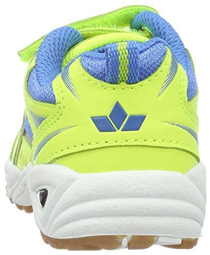 Lico Bob V - Zapatillas deportivas para interior de material sintético infantil Amarillo (Gelb/Blau)