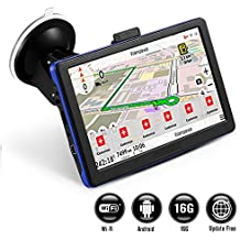 [Patrocinado] GPS Navigation for Car, Prymax 7 Inch GPS Navigator with 16GB Memory, Free Lifetime Traffic & World Maps, WiFi-Connectivity, Driving Alarm, Voice Steering