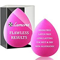 Pro Beauty Makeup Blender Foundation Sponge - Original Soft Latex Free Vegan Egg Sponges - (Also Available in Multiple Shapes and Colors) - Flawless Coverage of Liquids, Concealer, Cream