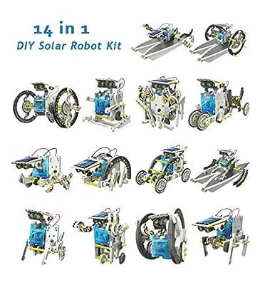 14 In 1 DIY Solar Robot Kit