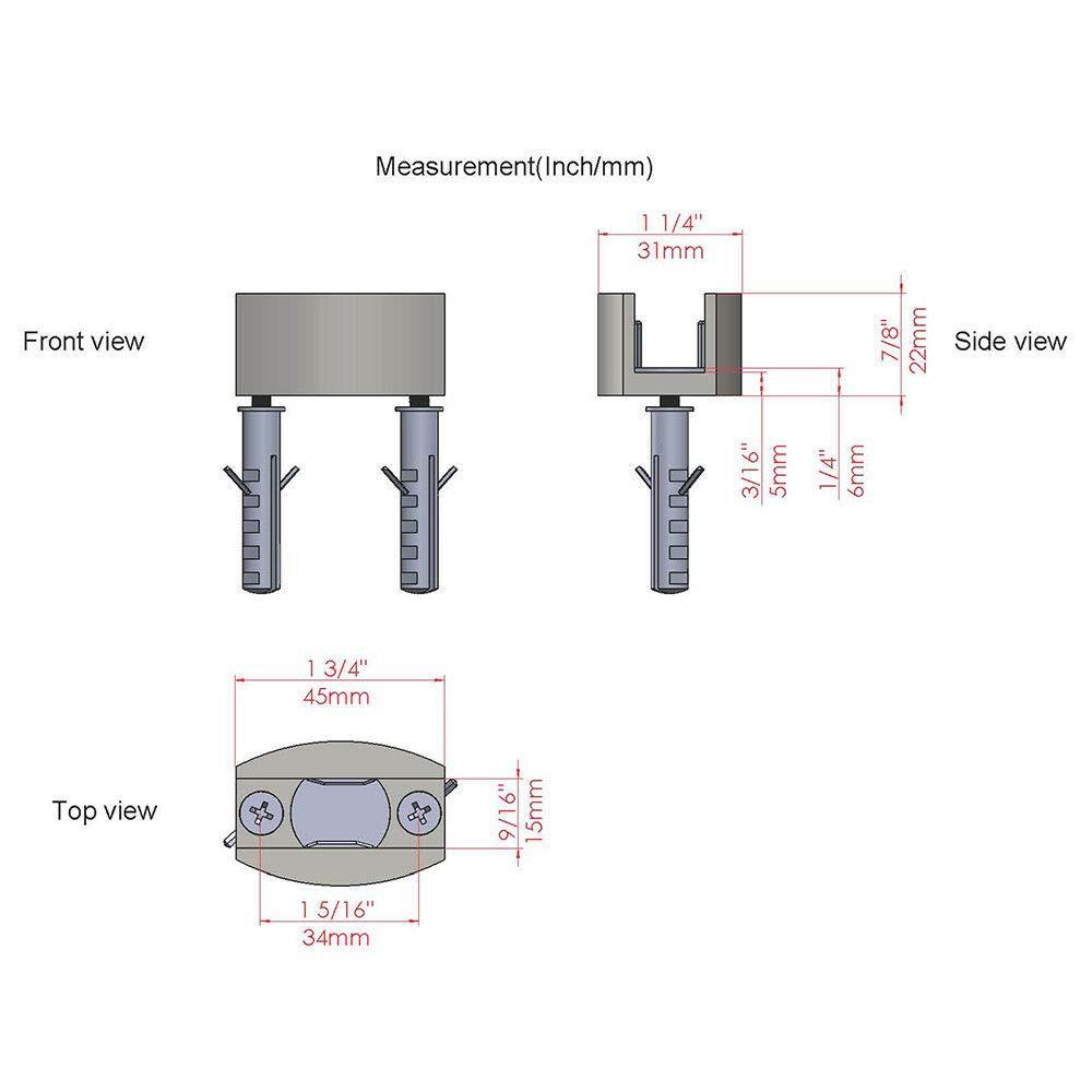 2-7//8 Diameter x 2-1//4 Depth Pack of 10 Pack of 10 Don-Jo 1573 Cast Brass Dust Proof Strike 2-7//8 Diameter x 2-1//4 Depth 1573-626 Satin Chrome Plated