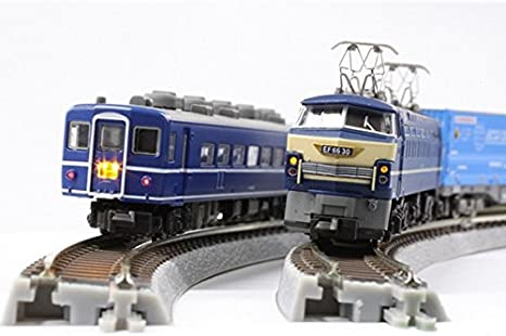Rokuhan Z gauge R063 Rail Set D single wire crossing sets