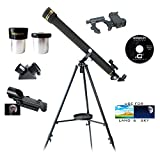 Galileo 700mm x 60mm Smartphone Photo Adapter Refracting Telescope