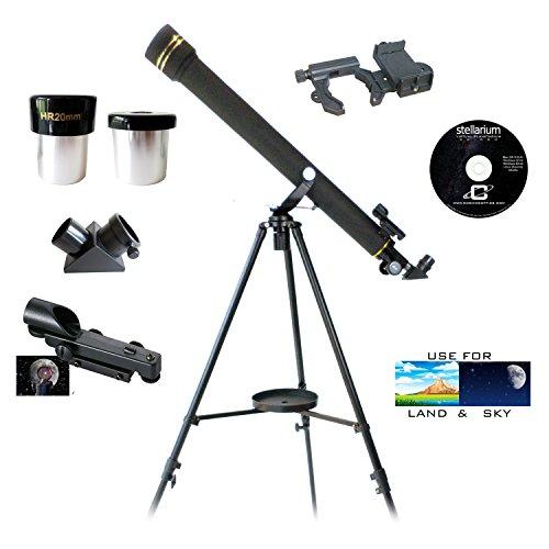 Galileo 700mm x 60mm Smartphone Photo Adapter Refracting Telescope by Galileo
