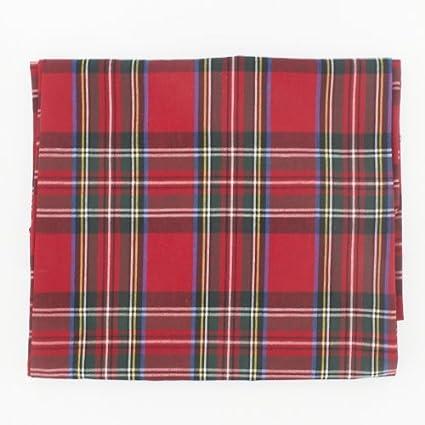 Superbe Stewart Royal Rectangular Plaid Tablecloth 147x178cm