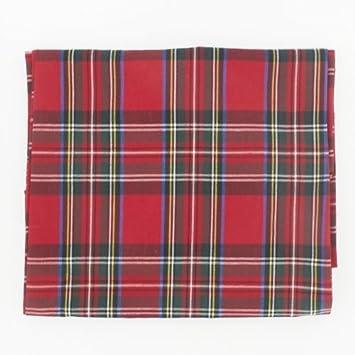 Lovely Stewart Royal Rectangular Plaid Tablecloth 147x178cm