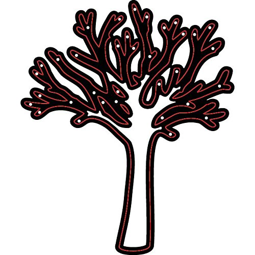 Darice Embossing Essentials Dies, Tree with Branches