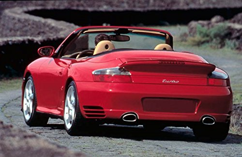 2004 Porsche 911 996 Turbo Cabriolet Automobile Photo Poster