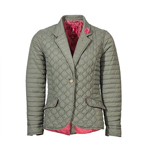 Ladies Jack Contemporary Warm Quilted Murphy Meg Jacket Blazer Womens Coat Green Stylish ExxwCFqf