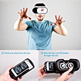 VR Headset, VR Goggles, Virtual Reality Headset