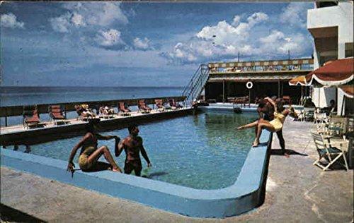 (Johnina Hotel Miami Beach, Florida Original Vintage Postcard)