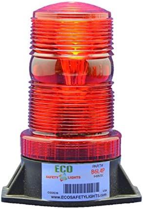 Klaxon Signals Flashguard Emergency Warning Alert Beacon 11-35V DC Static or Flashing Selectable LED Type Green Lens