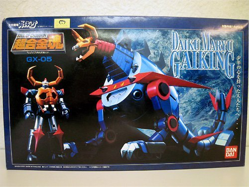 Soul of Chogokin GX-05 Daiku Maryu Gaiking, used for sale  Delivered anywhere in USA