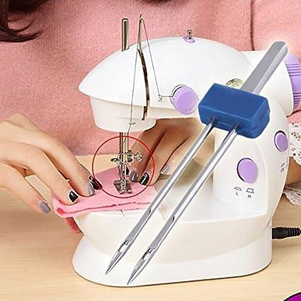 Juego de herramientas para máquina de coser con 3 agujas ...
