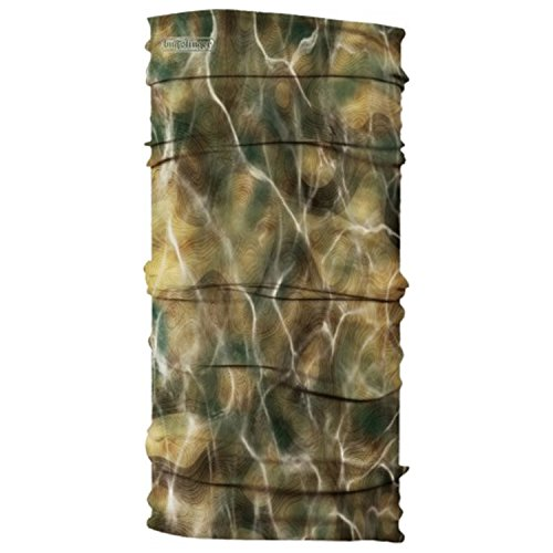 Buff Unisex Uv Bug Slinger Neck Gaiter OS, BS Water Camo Forest Buff Thermal