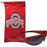 Siskiyou NCAA Ohio State Buckeyes Adult Sunglass and Bag Set, Red