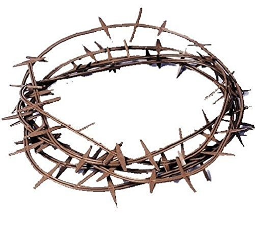 Crown Of Thorns (Plastic), Color-Brown, Fits One Size