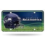 Rico NFL Seattle Seahawks Metal License Plate Tag