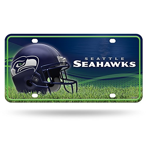 Rico NFL Seattle Seahawks Metal License Plate Tag by Rico