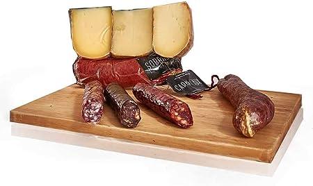 PACK LOTE EMBUTIDOS Y QUESOS - Sobrasada, carn i xua y quesos elaborado en Menorca y salchichón, morcilla y chorizo