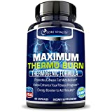 #1 Thermogenic Fat Burner Supplement for Men and Women - Extreme Fat Burning Solution - Boosts Metabolism & Energy - Shed Unwanted Body Fat and Lose Weight Fast - 30 Day Supply