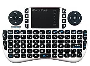 ipazzport backlit wireless mini keyboard with touchpad for android tv box and. Black Bedroom Furniture Sets. Home Design Ideas