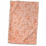 3dRose PS Flowers - Peach Flowers - 12x18 Hand Towel (twl_195711_1) offers