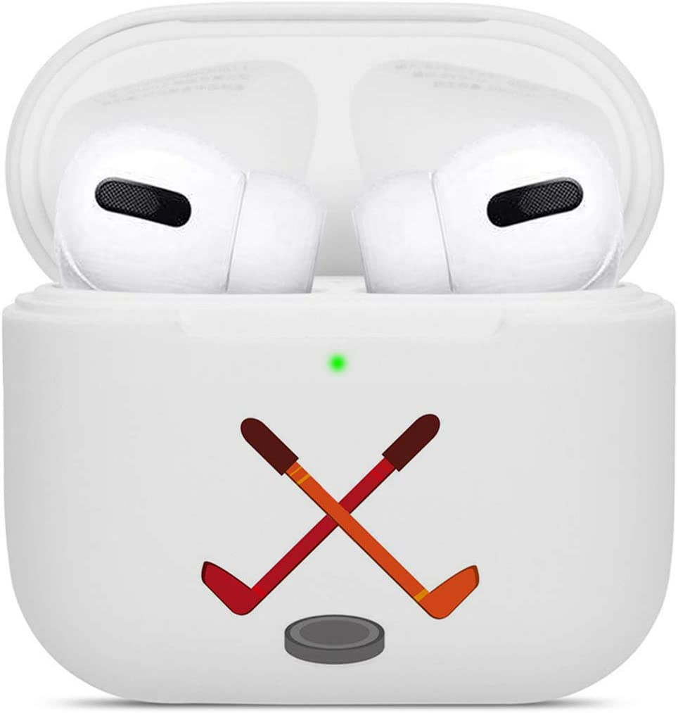 Shockproof Soft TPU Gel Case Cover with Keychain Carabiner for Apple AirPods Compatible with AirPods 2 and 1 Turtles Silhouette
